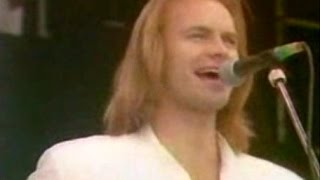 STING (Rare Live 80s) - If You Love Somebody Set Them Free (w / lyrics)