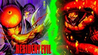 Resident Evil - William Birkin Vs Nemesis