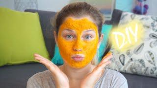 DIY : Test du Masque au Curcuma