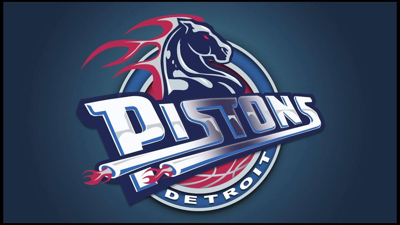Detroit Pistons Logo Animation