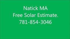 Solar Panels Natick MA