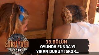 Funda Skor 9-9 Olunca Gözyaşlarını Tutamadı! | 39.bölüm | Survivor 2018