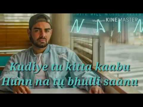 Nain Lyrics song | pav dharia& fateh | White hill music