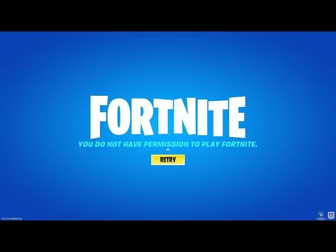 You are not banned from Fortnite