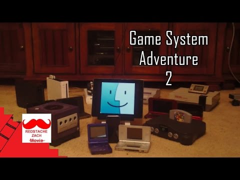 Redstache Zach Movie: Game System Adventure 2