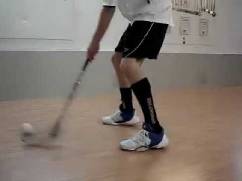 How to learn floorball tricks
