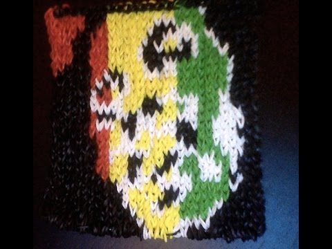 Bob marley craz loom tutoriel en fran ais mural youtube for Mural en francais