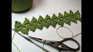 Cordão de Crochê Irlandês Passo a Passo