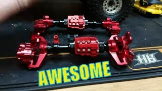 NEW metal axles for the TRX4