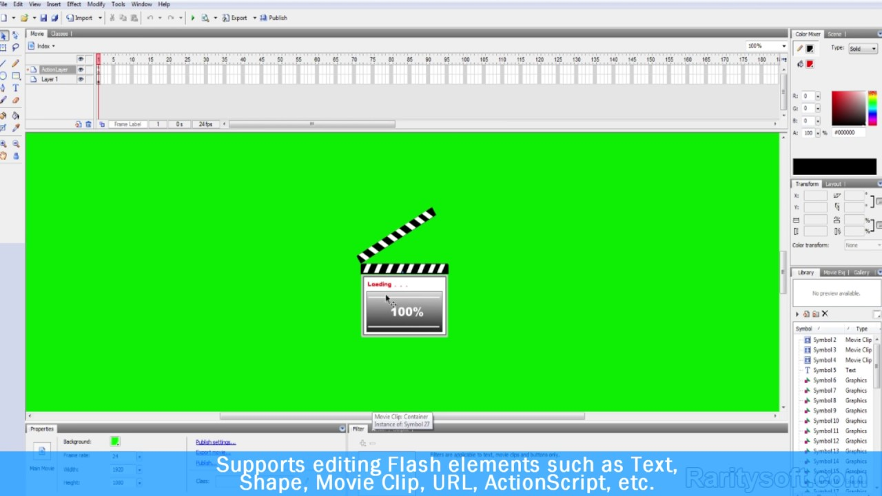 How To Make Flash From Scratch Or Edit An Existing - Sothink Swf Quicker