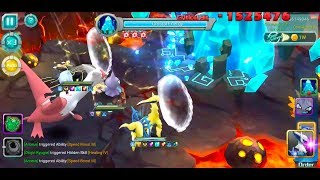 Pocket Arena/Pokeland Legends #497 (99999999 Max Crystal Damage) - Android/iOS Gameplay