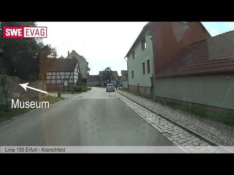 Führerstandsmitfahrt Linie 155 Erfurt-Kranichfeld