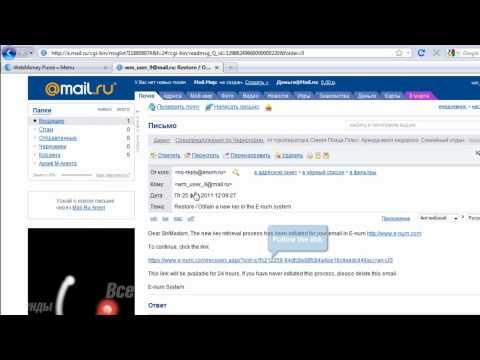 WebMoney Keeper Mini: How To Add E-NUM Account