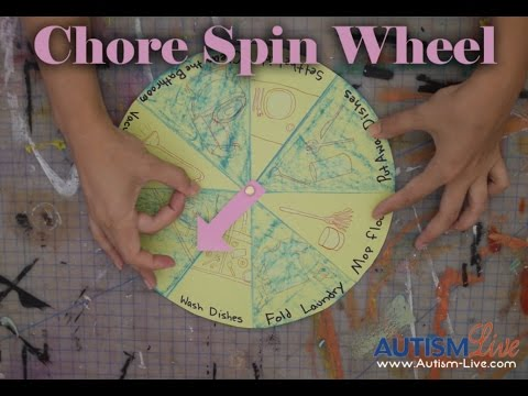 Smarty - August Chore Spin Wheel