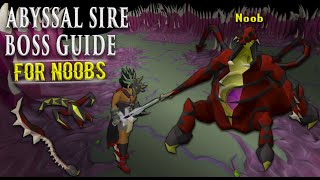 OSRS Abyssal Sire Guide For Noobs