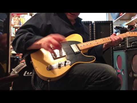 Fender Road Worn Telecaster, Joe Bonamassa Mod, Sheptone Pickups.