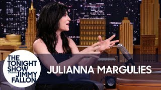 Julianna Margulies Scoops Her Dog's Poop with Donald Trump Bags