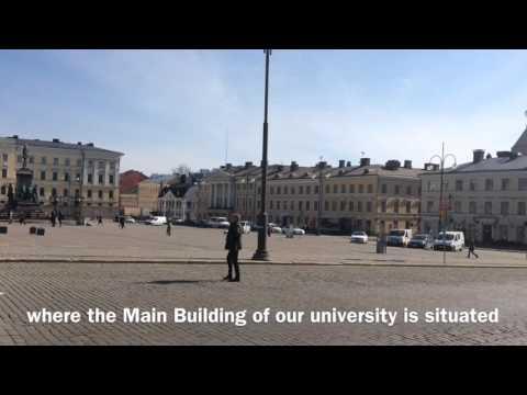 Food chase in University of Helsinki
