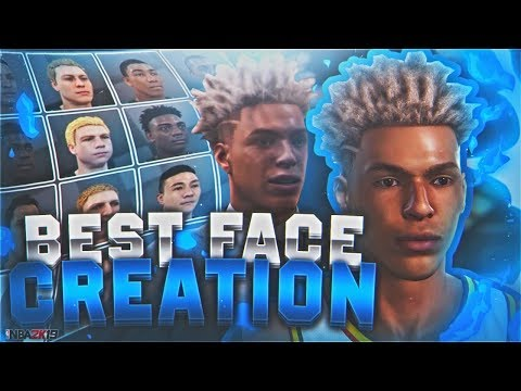 NBA 2K19 BEST FACE CREATION 🔥 LOOK LIKE A DRIBBLE GOD NOW! BEST MYPLAYER BUILD