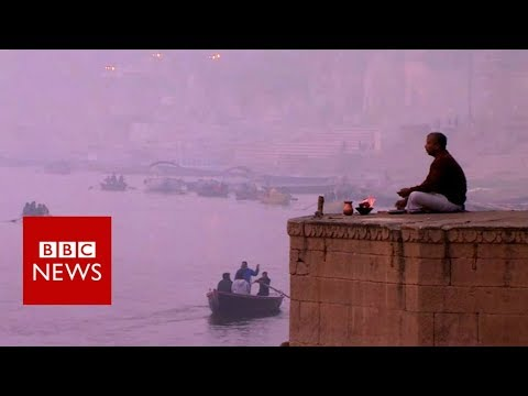 How plastic is harming India's holiest river – BBC News