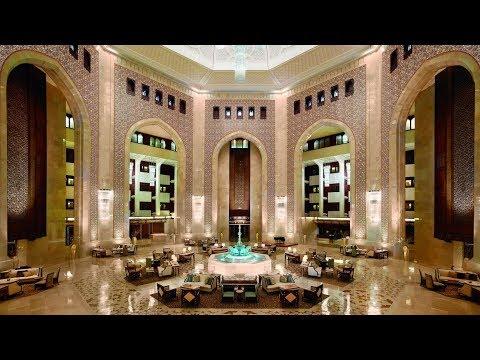 Al Bustan Palace, a Ritz-Carlton Hotel (Muscat, Oman):  impressions & review (STUNNING lobby!)