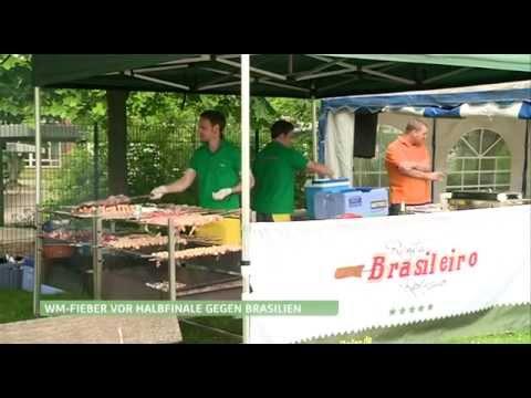 WM2014 - Rent a Brasileiro zu Besuch bei Hamburg 1 - Catering Rodizio für Zuhause