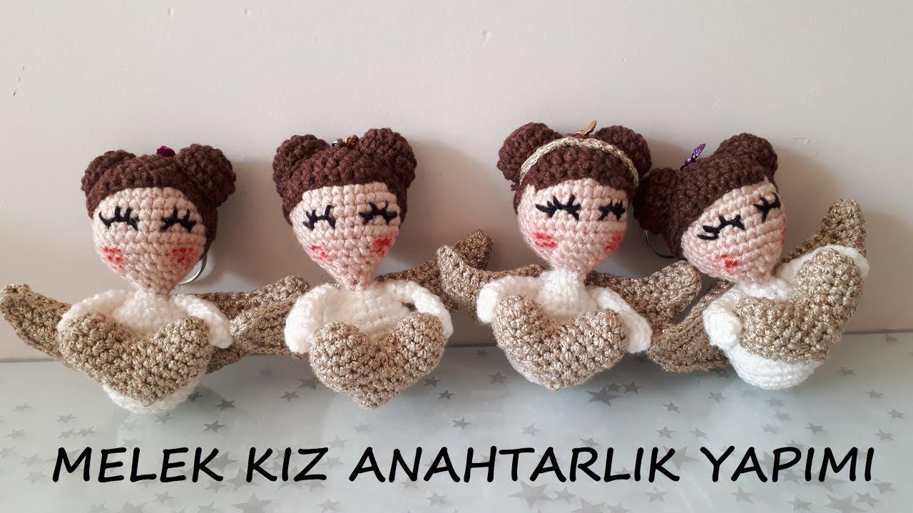 Bebek Anahtarlık Tarifi / Baby Keychain Pattern | Kroşe, Amigurumi ... | 720x1280