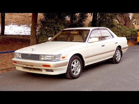 1992 Nissan Laurel Medalist (USA Import) Japan Aution Purchase Review