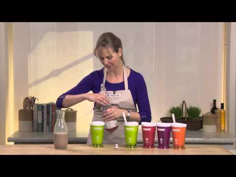 How to Use the Zoku Slush & Shake Maker   Williams-Sonoma