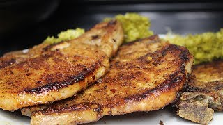 Pork Chops in the OVEN Recipe, Extremely Tender & Juicy