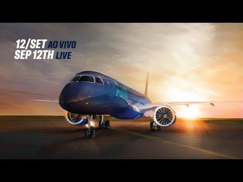 Comemoração entrega do 1° E195-E2 / Azul Receives Embraers First E195-E2