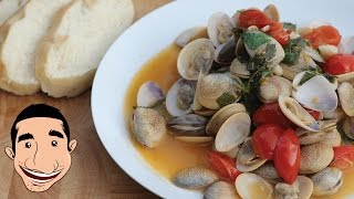 Steamed Clams Recipe | Vongole Recipe | Italian Recipes