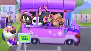 MY TALKING TOM FRIENDS 🛁 ANDROID GAMEPLAY #10 -
