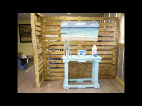 Pallet Room Divider Youtube
