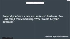 Email Outreach With Heather Morgan (Salesfolk) & Jeremy Chatelaine (QuickMail.io)