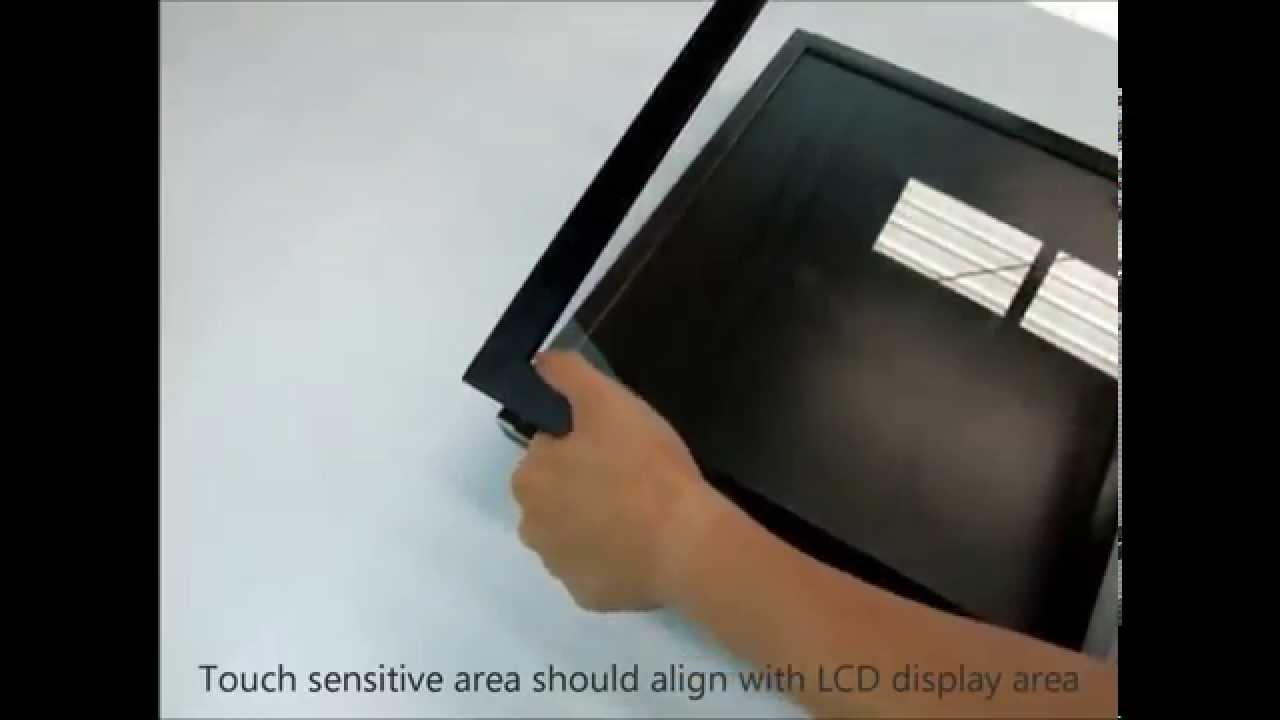 How To Build Cheap Touchscreen Using Commercial Touch Screen Conversion Frame Diy