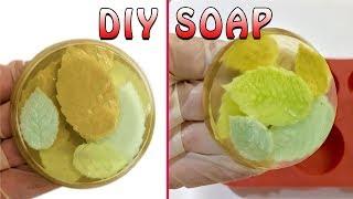DIY Soap Making Melt and Pour Soap for Bathroom Decoration