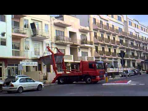 Only In Malta No Lift? No Problem!