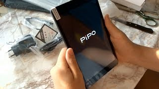 Планшет PIPO N8 - распаковка