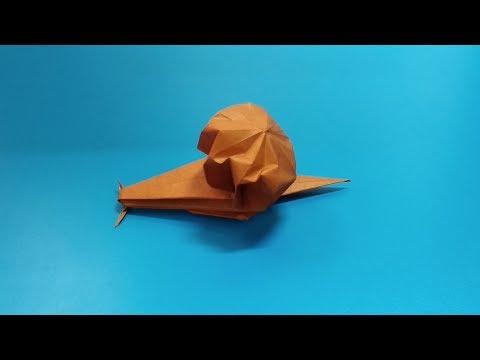ORIGAMI - DIY Snail Origami