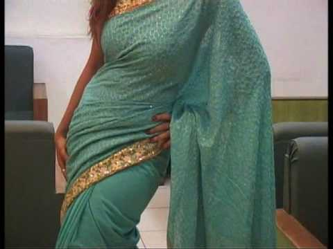 Sea Green Pure Georgette Saree with Blouse