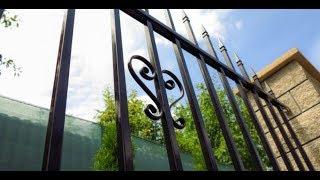 видео Сварные забора и ограждения | Художественная ковка в Москве и Московской области.