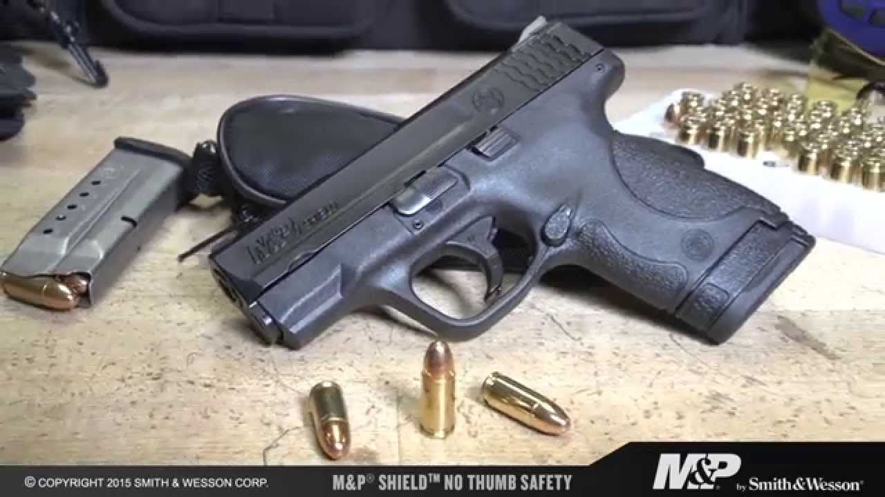 S&W M&P Shield-A Perfect CCW Choice For Certain Applications