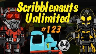 Scribblenauts Unlimited 123 Ant Man & Yellow Jacket (and more) in Object Editor