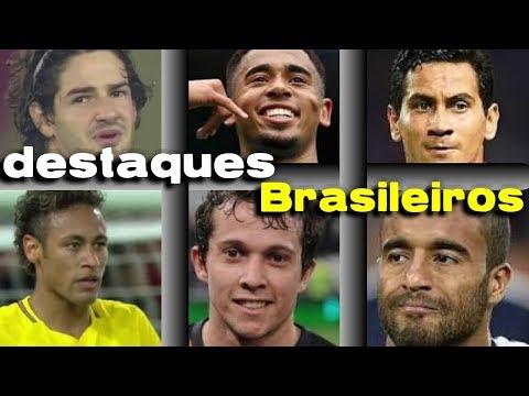 veja os gols dos Brasileiros na ultima rodada internacional Full HD