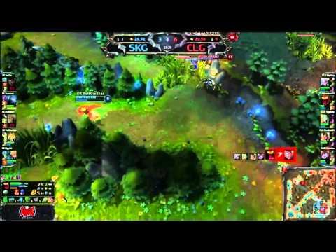 CLG vs SK: INCREDIBLE Triple Teleport Backdoor Win (plus game highlights)