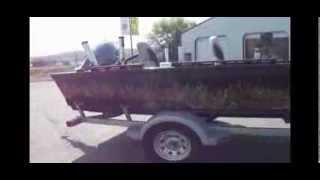 Camo Bass Boat Makeover!