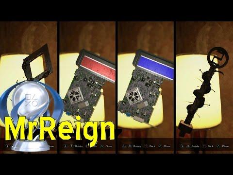 RESIDENT EVIL 7 BIOHAZARD - ALL KEY LOCATIONS - SCORPION - CROW - SNAKE - BLUE KEYCARD - RED KEYCARD