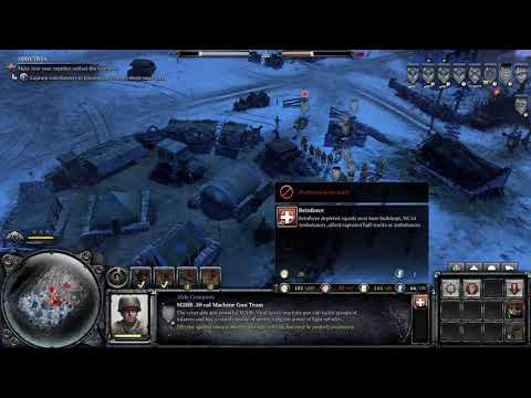 Company of Heroes 2 Ardennes Assault - Mission 10 - Cielle |