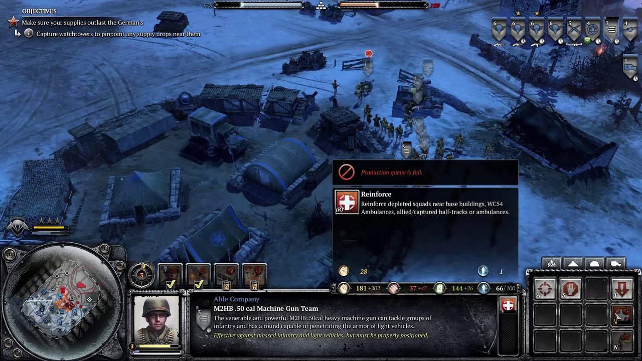 Company Of Heroes 2 Ardennes Assault Mission 10 Cielle Youtube